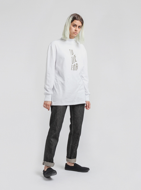 I AND ME 'To Die For' Long Sleeve - WHITE