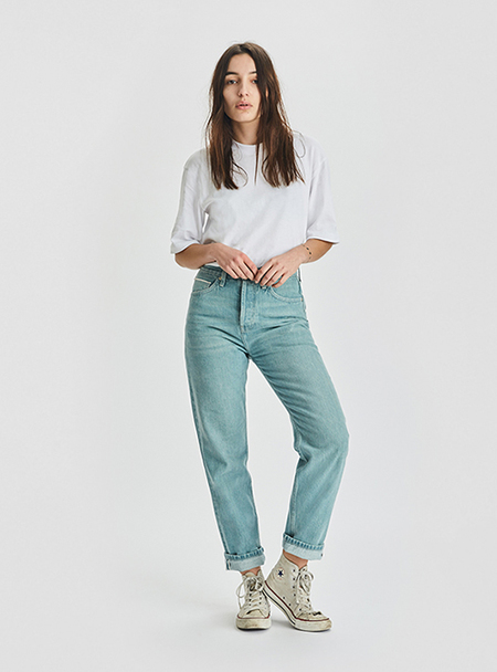 I AND ME Selvedge Slim Leg Jeans - RUSTED BLUE