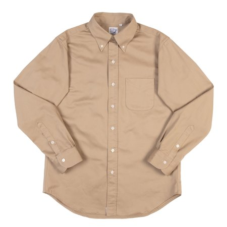 orSlow Button Down Shirt - Chino Twill