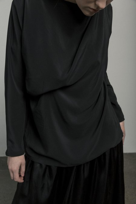 Mina Celine Top - Black