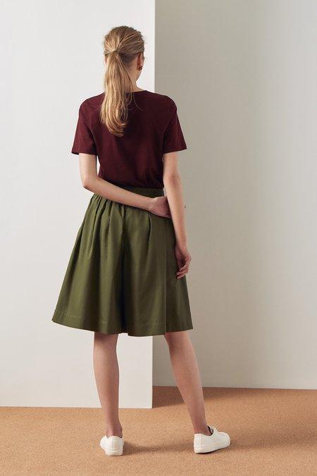 Kowtow Dusk Shorts - Moss