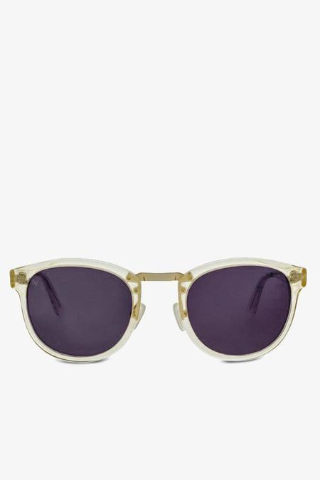Smoke x Mirrors Cross road sunglasses - vintage crystal