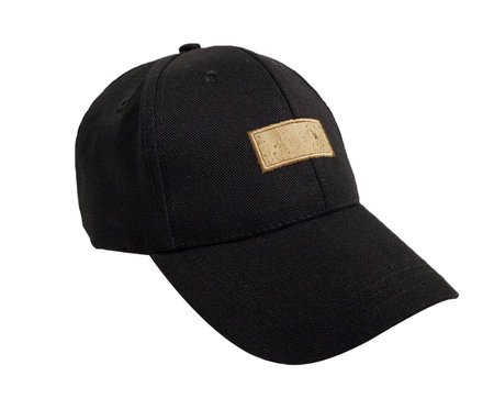 Basus Baseball Stamp Hat - Black
