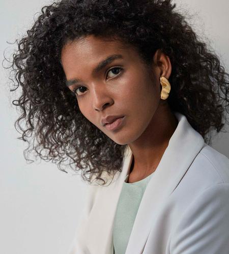 Luz Ortiz Pinto Earrings - 18k
