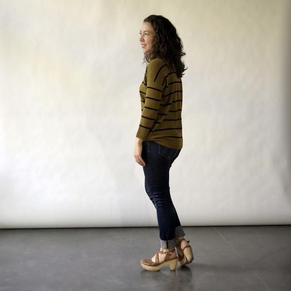 Doris Sweater in Citron