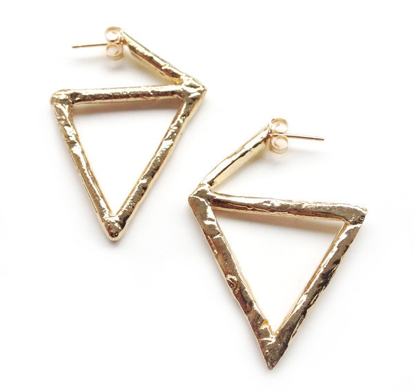 Species by the Thousands Rough Triangle Hoops
