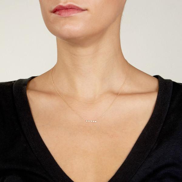 Ariel Gordon 14K Diamond Horizon necklace