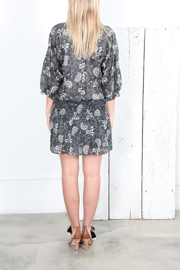 ULLA JOHNSON BATU DRESS in JAVA