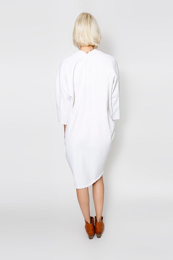 Miranda Bennett Muse Dress, Denim in White