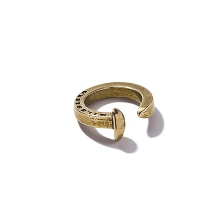 Unisex Giles & Brother Railroad Spike Ring - Brass