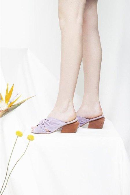 Miss L Fire Maya Heels - Lilac