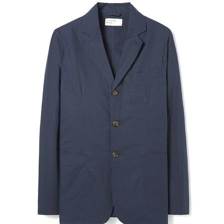 Universal Works Poplin London Jacket - Navy