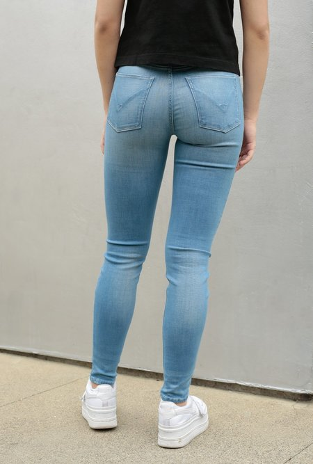 Hudson Jeans Nico Midrise Ankle Super Skinny Jean - Worn Dream Away