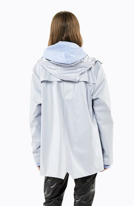 Unisex Rains Jacket - Metallic Ice Grey