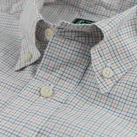 Gitman Bros. Grand Slam Shirt - Tattersall