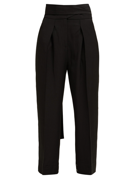 Petar Petrov Hallet High-Waist Tailored Trousers