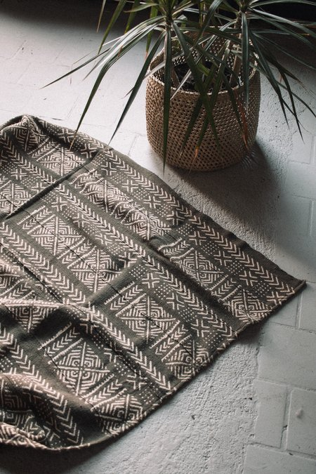 Brick & Mortar Twilight Mudcloth Throw Blanket