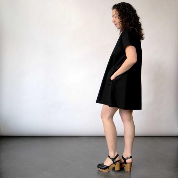 Lu. Dress No. 2 in Asphalt