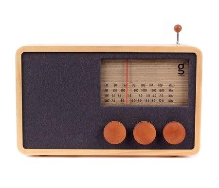MAGNO WOODEN RADIO (LARGE)