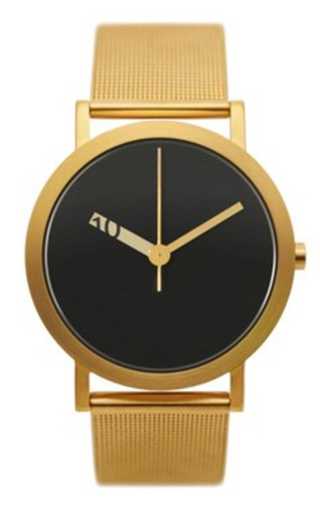 Extra Normal Timespieces Grande EN24-M20GO Watch - Gold/Black