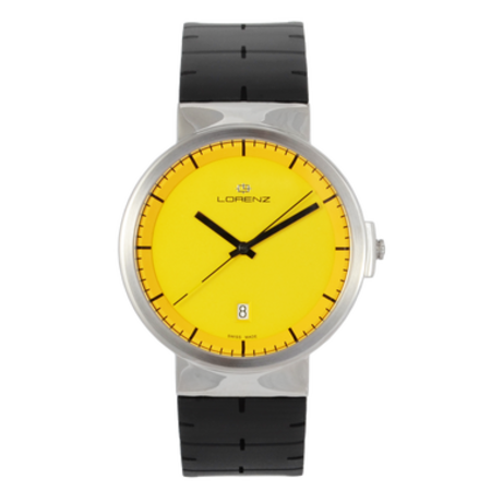 Lorenz Culdesac Neos Watch - Yellow/Black
