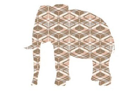 Inke Heiland WILDLIFE SERIES WALLPAPER - ELEPHANT 0159