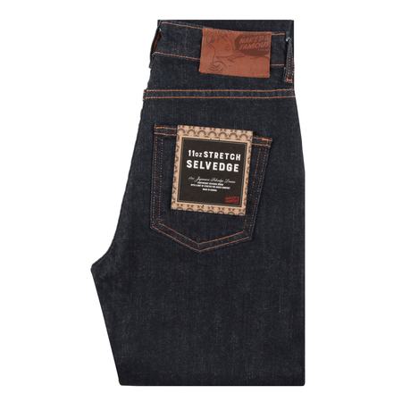 Naked & Famous High Skinny 11oz Stretch Selvedge Jeans