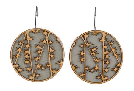 Molly M. Designs VINE 1 EARRINGS