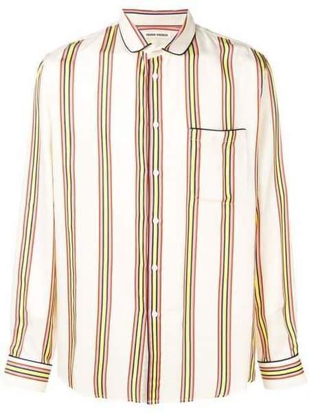 Henrik Vibskov Spyjama Shirt -  Cream Multi Stripes