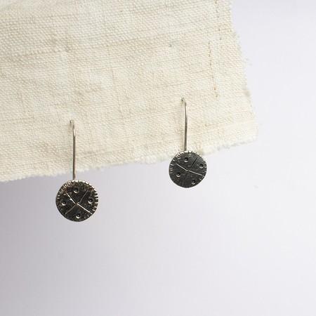 kontora sisters round earrings - Silver