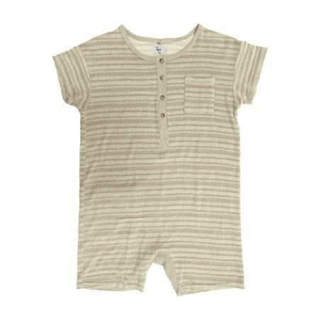 KIDS nico nico Spiro Romper - Natural/Sand Stripe
