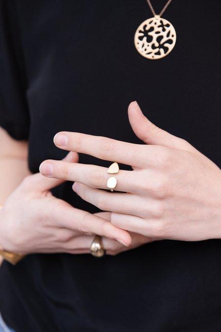 Seaworthy Poppy Ring