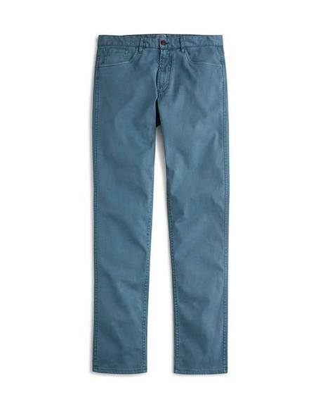 Faherty Brand Comfort Twill Jean - Washed Blue