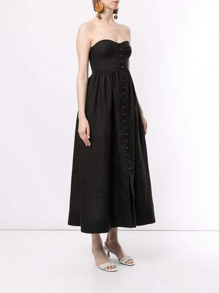 Mara Hoffman Mercedes Bustier Dress