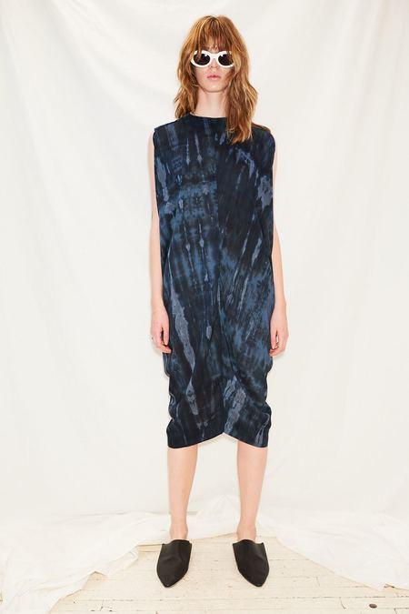 Assembly Blur Gemini Dress - Blue
