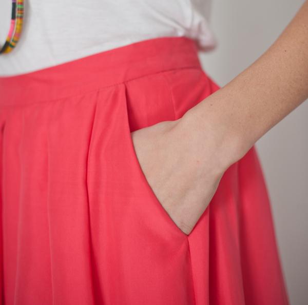 Funktional Uneven Skirt