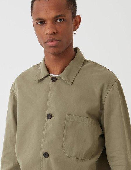 5e6f88fd2294 Portuguese Flannel Labura Cotton Workwear Jacket - Olive Green ...