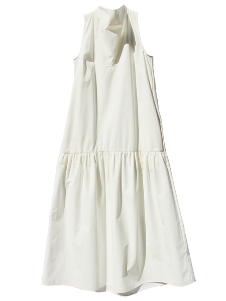 Nomia Cowl Neck Dress - White