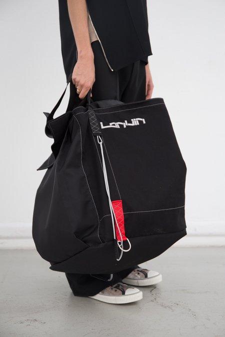 Lanvin Oversized Construction Bag - black