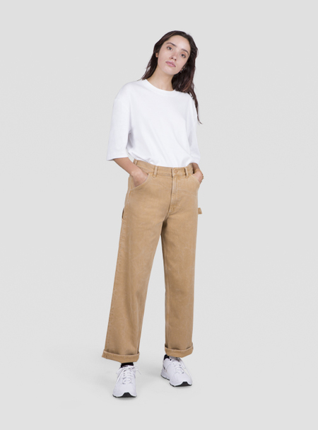 I AND ME Selvedge Painters Pants - Spice
