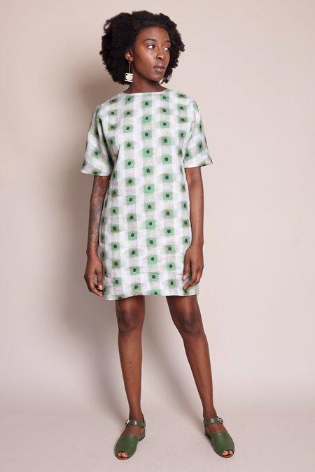 Samuji Belisma Dress - Green Powder
