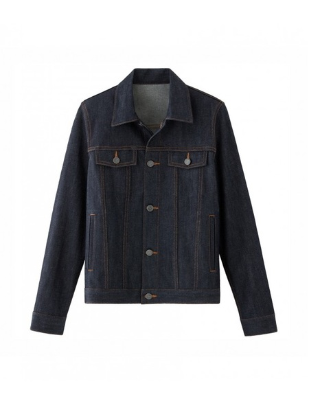 A.P.C. BLOUSON BRANDY DENIM JACKET - INDIGO