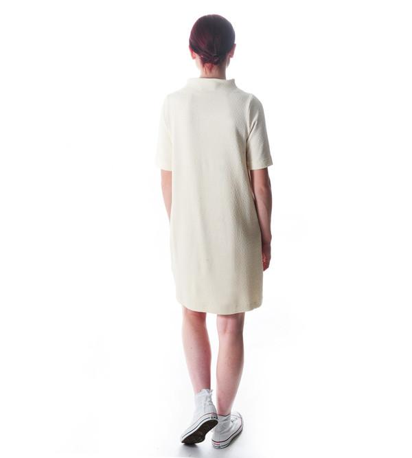 Ganni Cream Thompson Dress