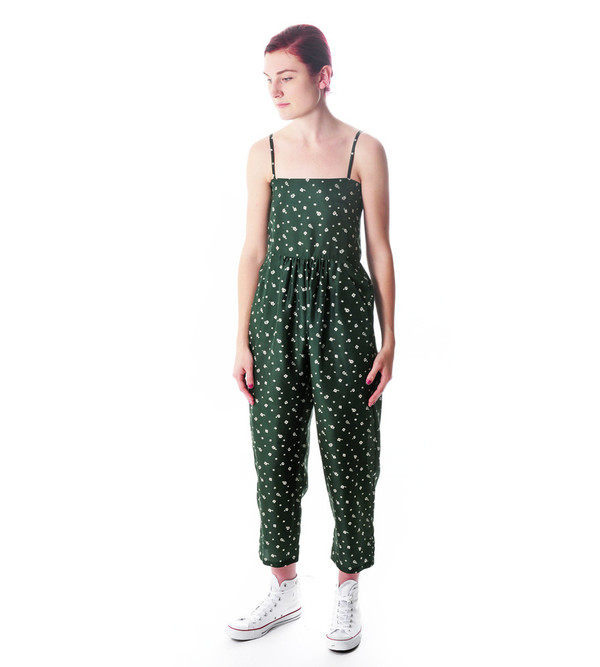 Caron Callahan Silk Betthany Jumpsuit