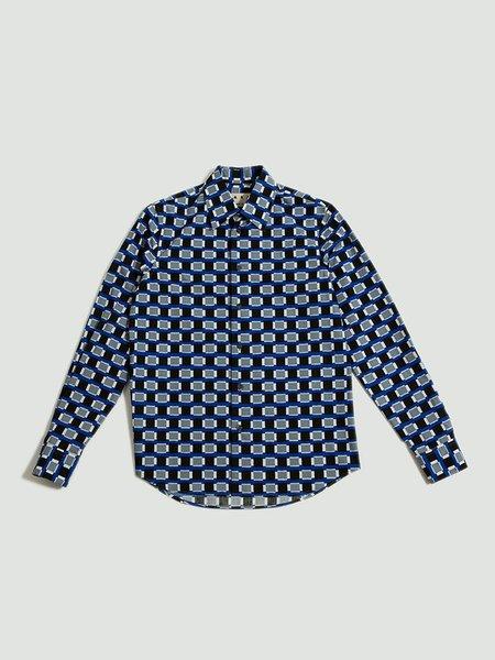 Marni Printed Shirt - Blue/Black