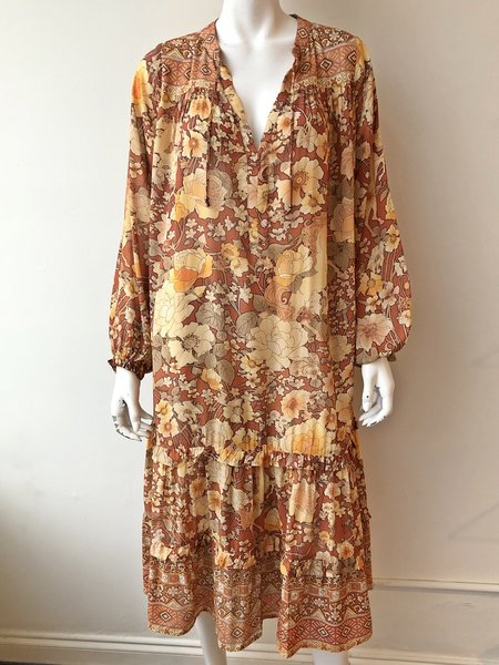 SPELL & THE GYPSY COLLECTIVE Amethyst Boho Dress - AMBER