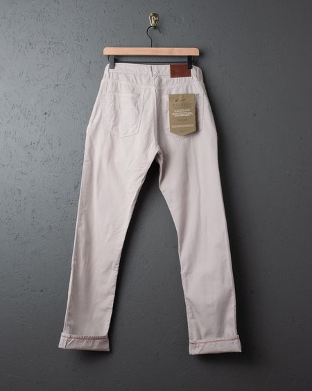 Raleigh Denim Workshop Raleigh Jones Lightweight Canvas Trousers - Cloud Grey