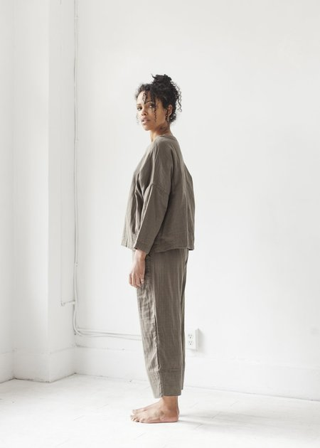 It Is Well L.A. Wide Leg Pant - Olive