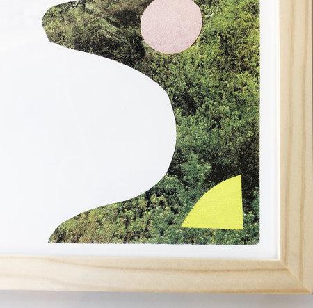 Casey Deming Land Shapes Framed Print
