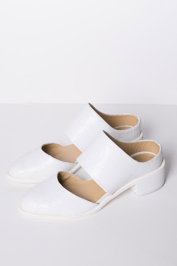 LOQ Coruna Mule - White